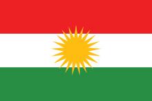 bandiera kurdistan irakeno