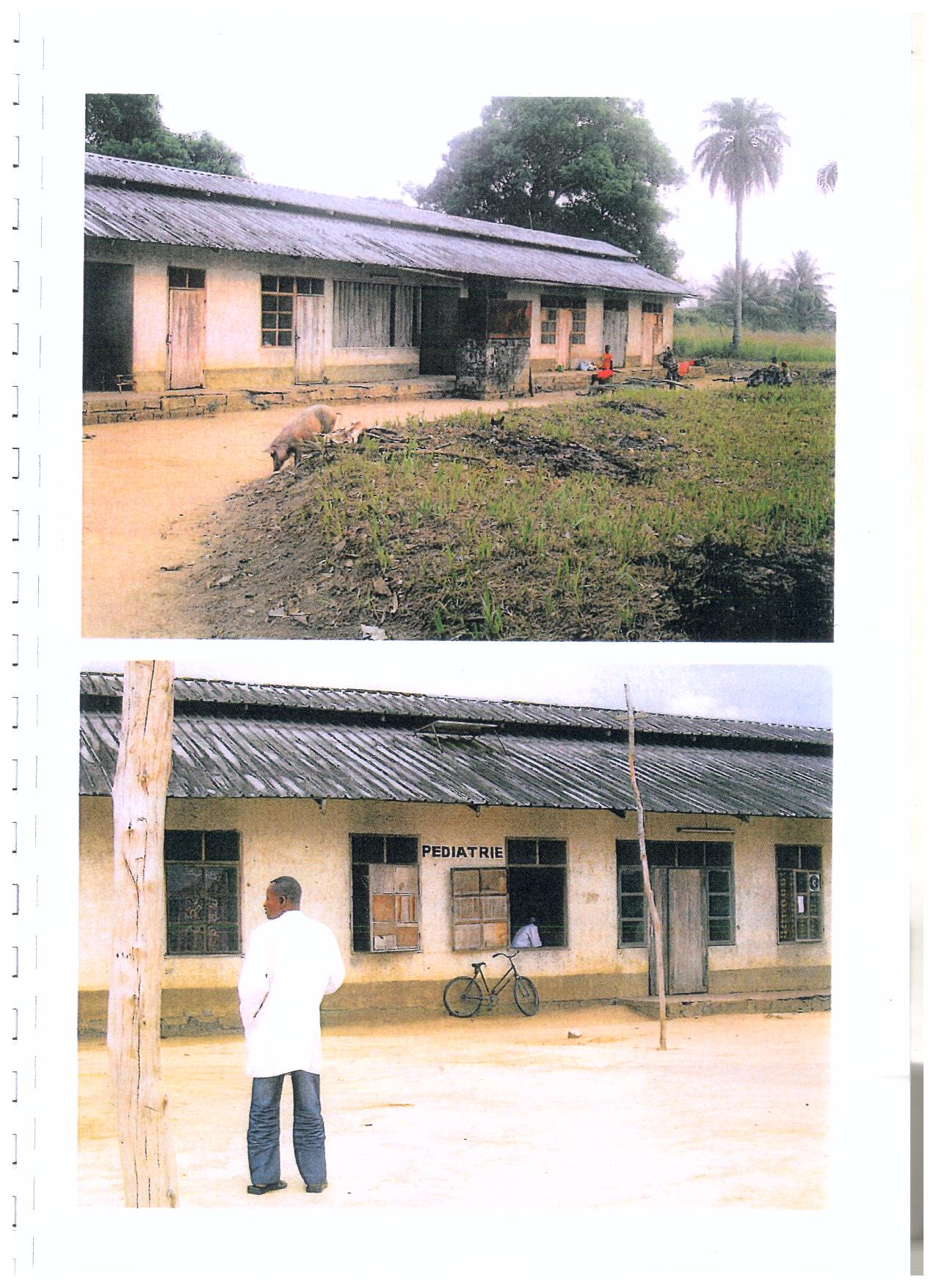 Ospedale di Bosobe in Congo